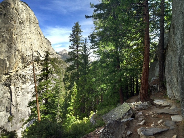 John Muir Trail hiking Yosemite