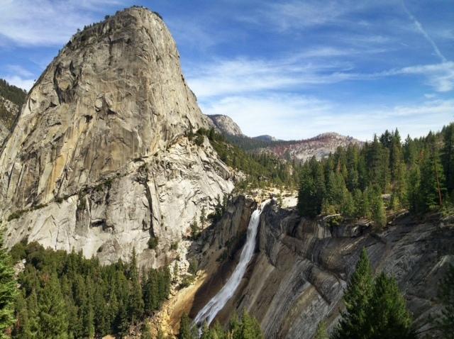 Nevada Falls Yosemite hiking