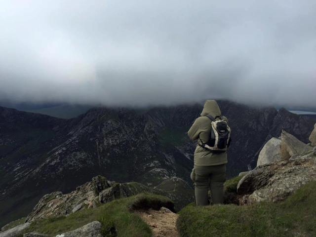 Scotland hillwalking hiking Goatfell Peak Isle Arran