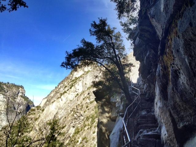 John Muir Trail Vernal Falls hike
