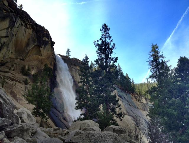 Yosemite Nevada Falls hike