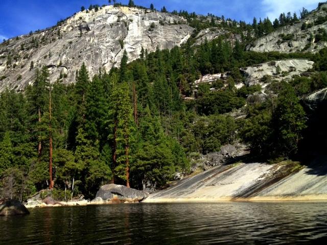 Yosemite Vernal Nevada Falls hike lake