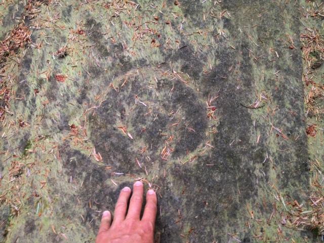 Arran Scotland Stronach Ridge petroglyphs