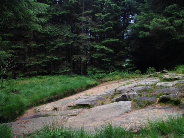 Isle Arran, Scotland petroglyphs hiking