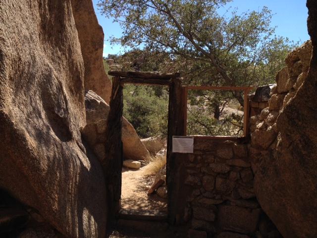 Eagle Cliff Mine rock cabin Joshua Tree