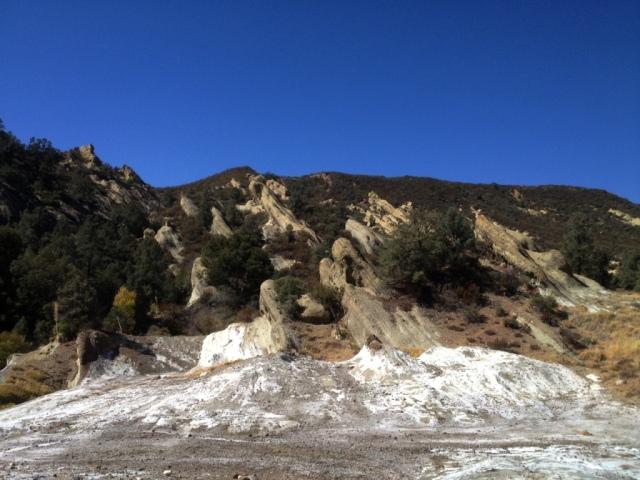Salt Seep Flat Los Padres hikes