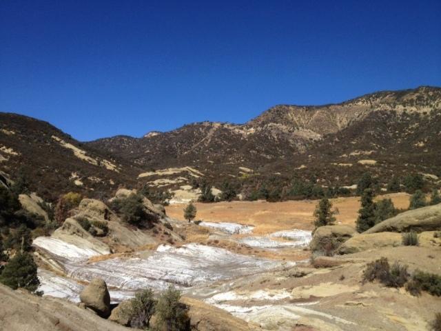 Salt Seep Flat Sespe hikes