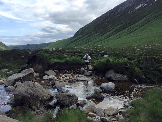 Glen Rosa hillwalk Isle Arran Scotland hiking