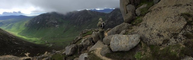 Goatfell Peak Glen Rosa hillwalk Scotland hikes