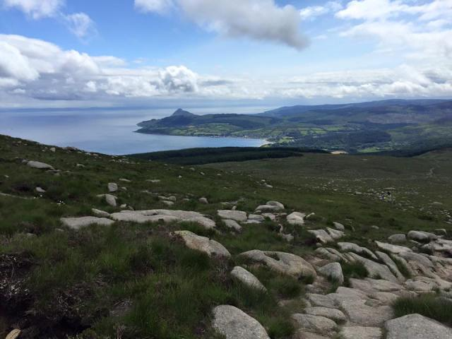 Goatfell Peak hillwalk Scotland hike
