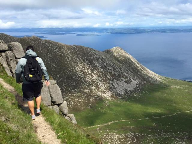 Goatfell Peak Scotland Islae of Arran hillwalk hikes