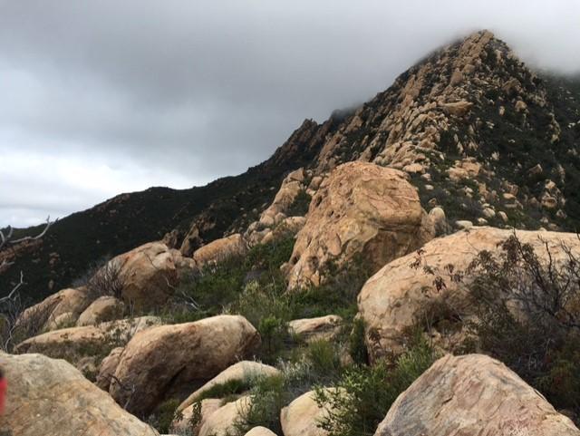 Arlinton Peak hike Santa Barbara