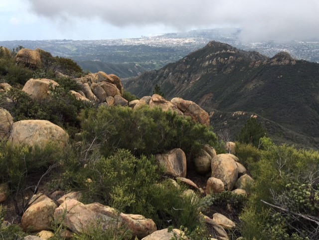 La Cumbre Peak hike Santa Barbara Los Padres