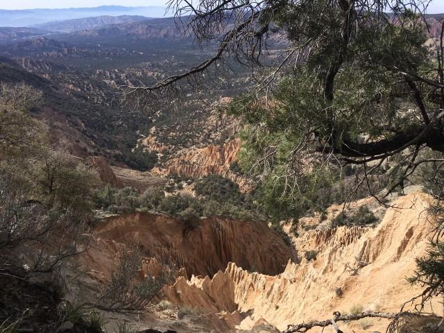 Cuyama Badlands San Emgdio hikes