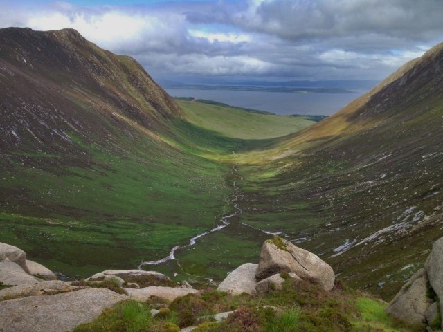 Goatfell Peak Isle of Arran Scotland hiking